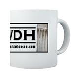 Kaffekrus med Victor Davis Hanson-logo