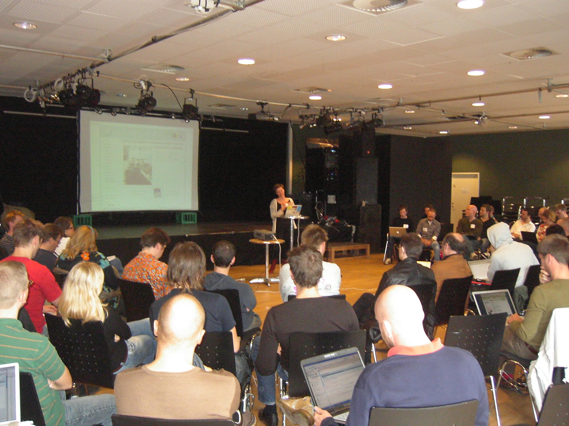 Blogforum2 Islands Brygge i København d. 8. oktober 2006