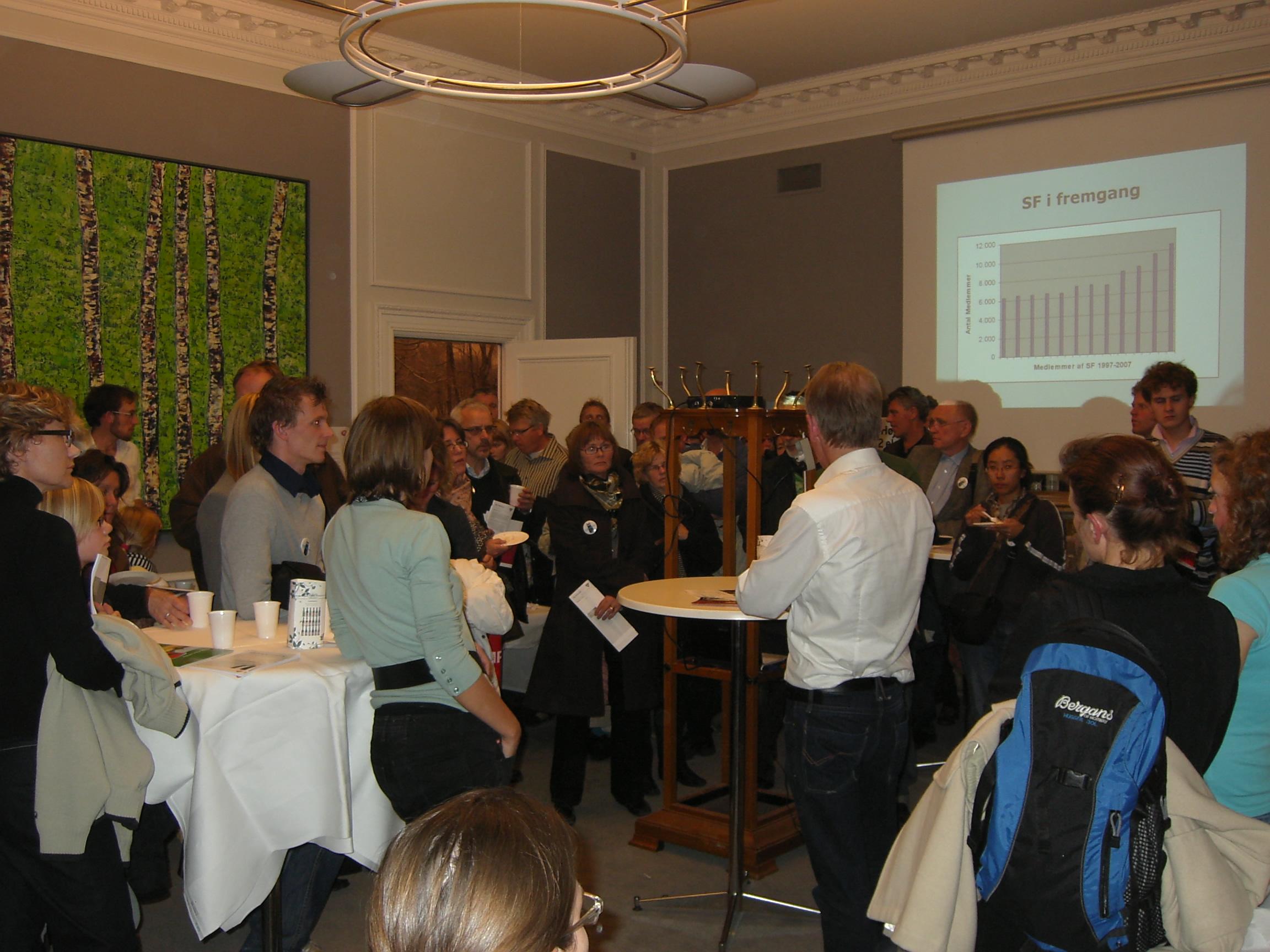 Villy Søvndal på Kulturnat 2007