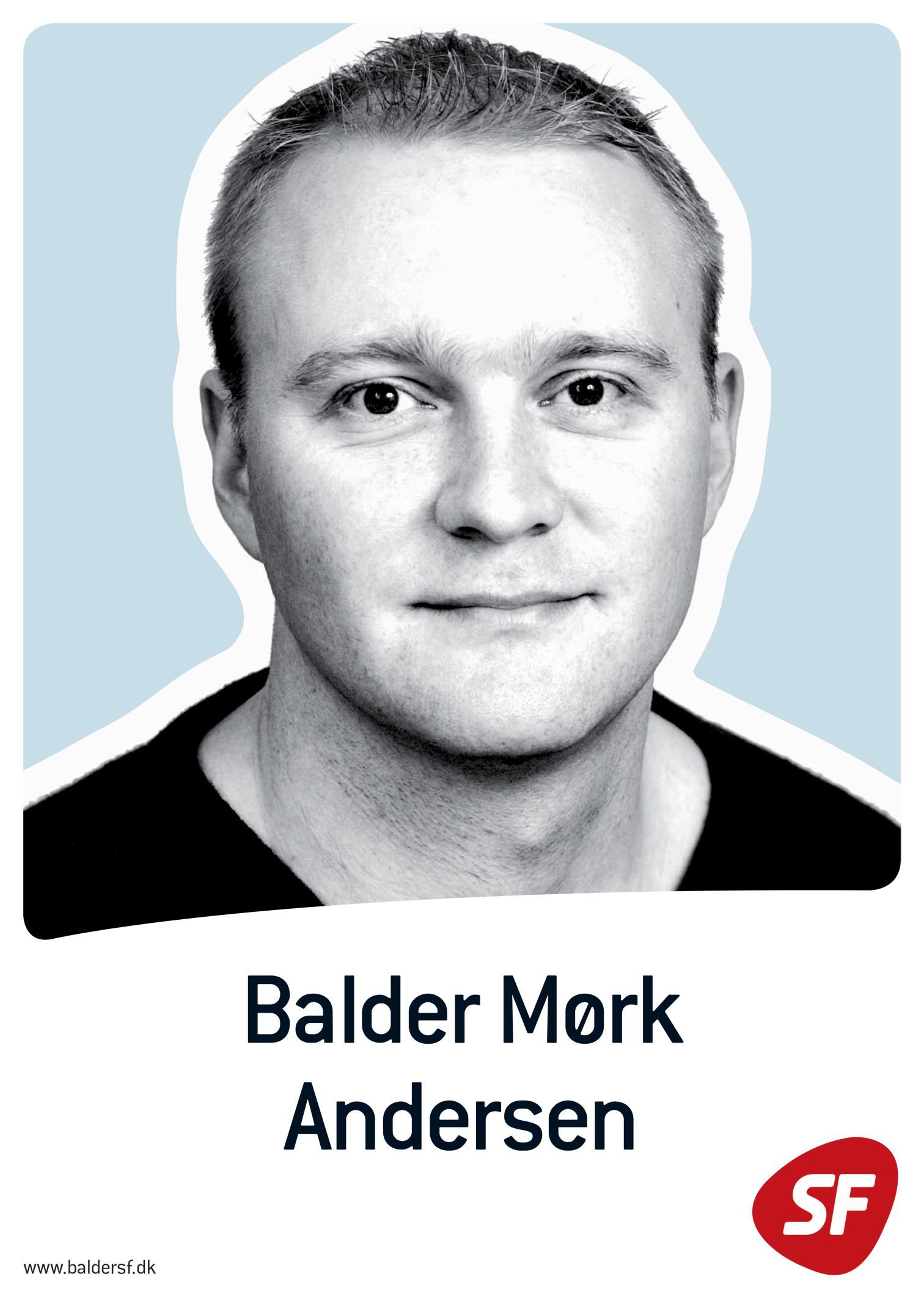 Balder Mørk Andersens plakat