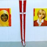 Mahmoud Alibadis værk 'Danmark' - pressefoto